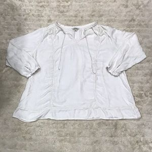 Lucky Brand peasant top Size 2X
